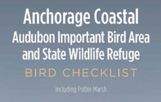 Alaska Birding Checklists