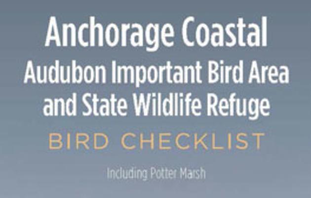 Alaska Birding Checklists