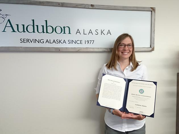 Audubon Alaska Honored by the Coast Guard for Bering Strait Mapping