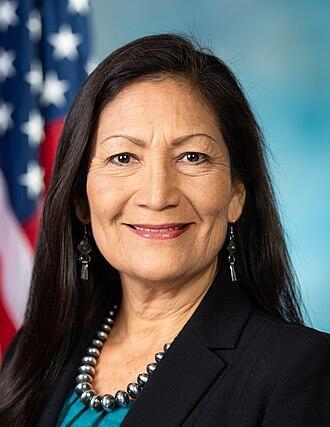 Deb Haaland. Official portrait 116th Congress