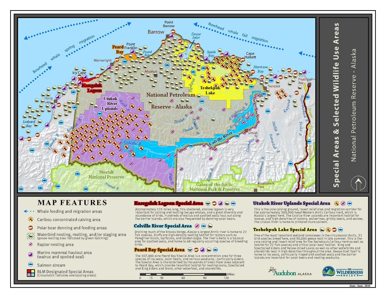 NPRA Positive Wildlife Values Map